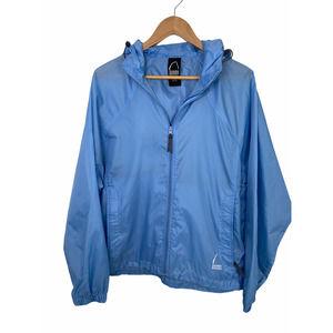 Sierra Designs Blue Lightweight Rain Jacket XL